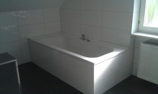 eingemauerte Badewanne