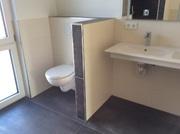 abgetrennter WC-Bereich im Bad