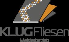Logo des Fliesenlegers Klug aus dem Raum Main Spessart